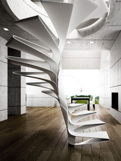 dezeen Folio Staircase by Disguincio and Co 3