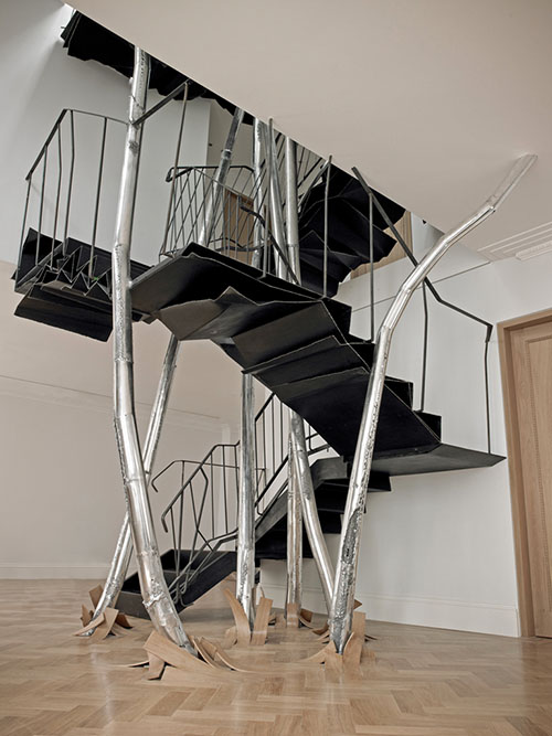 Futuristic high tech staircase design1